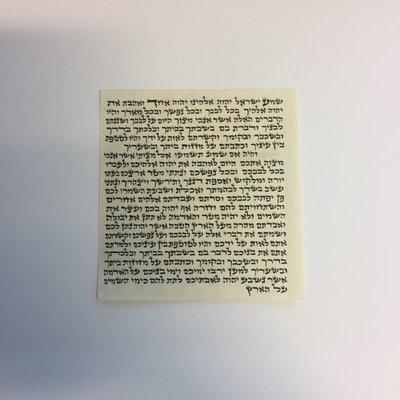 Klaf 10x10 cm