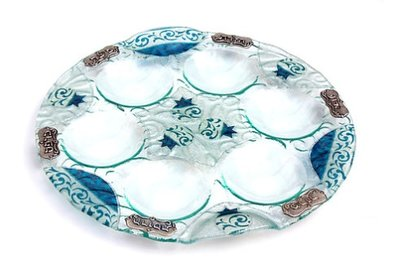 Seder tray without metalplates