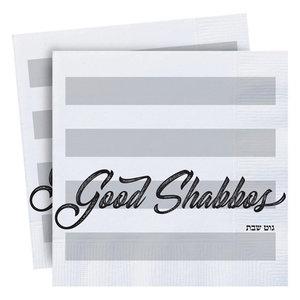 Servet Good Shabbes Strepen