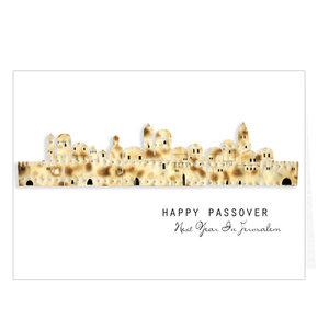 Kaarten 5x Pesach Jerusalem