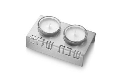 Kandelaar zilver Alu