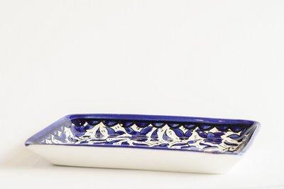 Armeense schaal 21 cm Blauw O1721