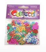 Confetti Bat Mitswa gekleurd