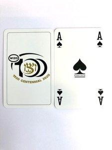 Speelkaarten Wizo 100 jaar
